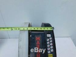 Marsh TD2100 TDE110 Standard Electric Gummed Taper Tape Dispenser