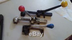 Metal Strapping Banding tools Signode Acme Gerrard Royal Lot 3/8 1/2 5/8 3/4