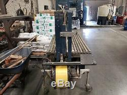 Mosca Automatic Bundler Strapping Machine 56x22 Arch Size