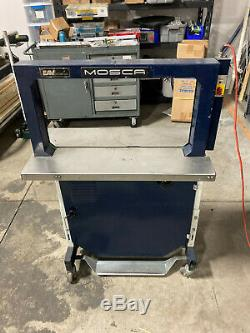 Mosca RO-M-P strapping machine