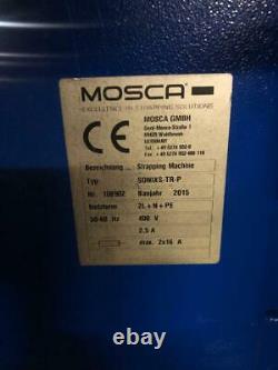 Mosca SONIXS-TR-P Umreifungsmaschine Bündelmaschine Strapping Machine Sonixs TRP