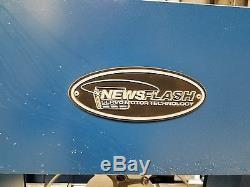 NEWS FLASH Newspaper strapping machine NFT50