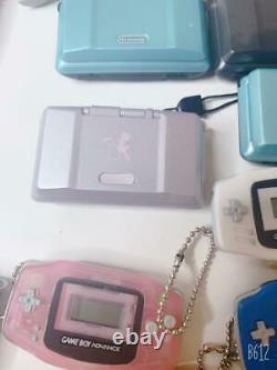 Nintendo game machine miniature clock eraser strap keychain