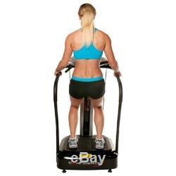 OPEN BOX Confidence Fitness Whole Body Vibration Plate Trainer Machine Straps