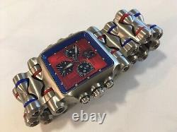 Oakley Minute Machine Red Blue with Bonus Strap Option