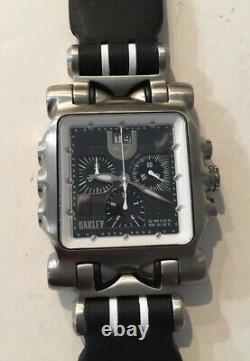 Oakley Minute Machine White with Bonus Strap Option