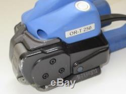 Orgapack ORT-250 Automatic Sealless Combo Strapping Tool POLYPROPYLENE & POLYEST