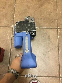 Orgapack ORT-250 Battery Powered Strapping Tool with 1 Bosch Battery