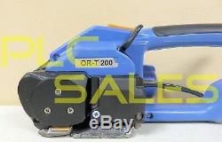 Orgapack OR-T 200 Strapping Tool with 2 x New Batteries + Charger ORT-200