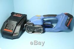 Orgapack OR-T 400 19mm 3/4 In Battery Powered Poly Strap Strapping Bander