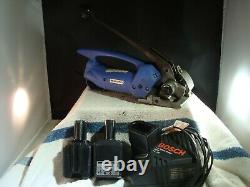 Orgapack OR-T 50 Strapping Tool + 2 Batteries + Charger Made in Switzerland
