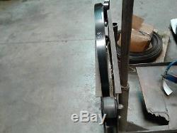 Orgapak CR26A pneumatic Strapping system with 1 1/4 and 1 Clips and banding