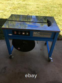 PAC PSM1412-IC3A Standard Semi Automatic Strapping Machine