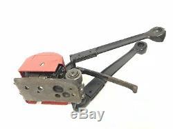 PIKE Umreifungsgerät Umreifungsmaschine Bandspanngerät Stahlband Gut Erhalten