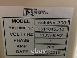 Pack Strapping 110v Autopac 300 Arch Strapping Machine 20a 1 Phase 1311015512