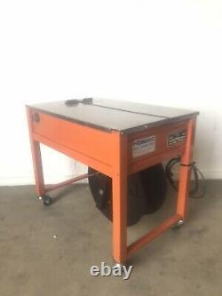 Poly Strap Banding Semi-Auto Oval Mini Max Strapping Machine shipping supplies