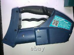 Polychem B800 battery powered plastic strapping tool with Battery and Charger