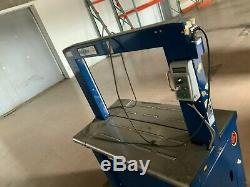 Polychem Corp. PC1000 ARCH Full Strapping Strapper Machine
