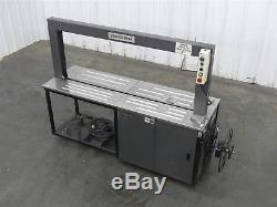 Polychem GP44 Semi-Automatic Case Strapper 115V, 1PH, 44 Cycles Per Min. (D7375)