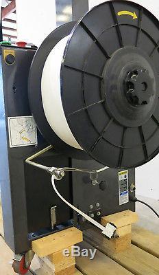 Polychem PC600AL / JoinPack A-93N Strapping Machine Arch 33w x 23t Inv#3085