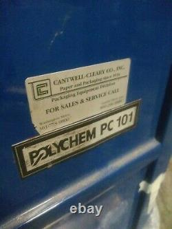 Polychem PC-101 strapping machine