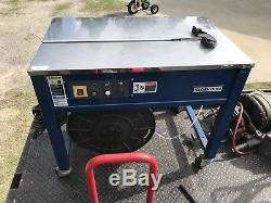 Polychem PC 102 Strapper Poly Strapping Machine