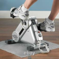 Power Assist Pedaler Leg Arm Exercise Physical Therapy Machine with Straps LCD