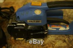 (QC)Orgapack OR-T 250 Strapping Tool with Battery + Bosch Charger