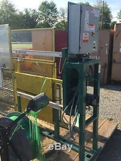 SIGNODE MHC 5154 MOD710 M073 Strapping Banding Machine 96w X 24h