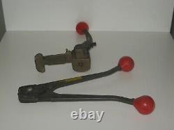 SIGNODE Model ST Tensioner Plus C 1223 Sealer Strapping Tool GUC