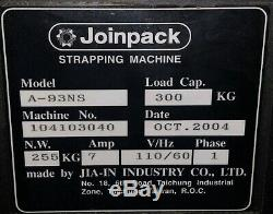 STRAPPING MACHINE JOINPACK POLYCHEM PC600 (2004) 1/2 strapping