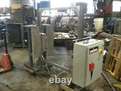 Samuel Automatic Side Seal/t200 Strapping Machine 45 X 46 Capacity Vk20 Head