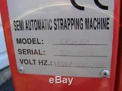Samuel P-725 industrial banding machine Model EXS-301 W / banding material