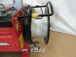 Samuel Semi Auto Strapping Machine, Model EXS-108, 34 X 23 Opening