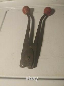 Signode 008635 Model SRC-3423 Manual Regular Duty Sealer for 3/4 Steel Strapping