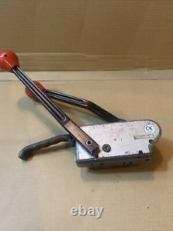 Signode 3/4 SHC-34, AM-34 Sealless Combo Tool Steel Strapping Banding Tensioner