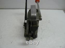 Signode AD 502-4 size 1/2 seal feed strapping machine