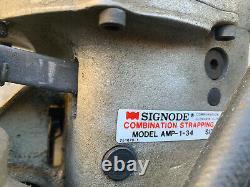 Signode AMP-1-34 Pneumatic Strapping Banding 3/4
