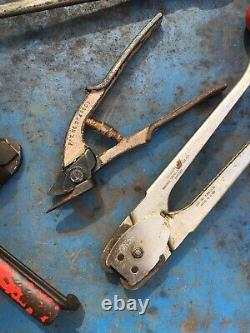 Signode Acme Stanley Banding Tool Tensioner Cutter Crimper Strapping Palletizing