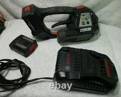 Signode BXT2-10 Strapping Tool with 2 x Batteries and charger, works great