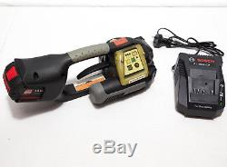 Signode BXT2-19 Battery Powered Strapping Tool Handheld Polly Banding Machine