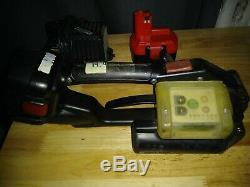 Signode BXT-19 Strapping Tool with 2 x Batteries + Charger BXT-19