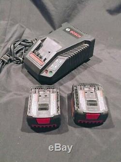 Signode Bxt2 Strapping Tool With 2 Bosch 14.4 Batteries & Charger Fast Free Ship
