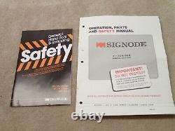 Signode D-504 Strapping Sealer Tool for 1/2 Inch Plastic Strap Nice in Box