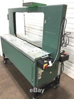 Signode Hb-4300lf 9mm Semi-automatic Large Frame Box Case Strapping Machine 460v