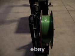 Signode MCD 510 Lf Arch Strapping Machine. Semi-automatic Plastic Bander