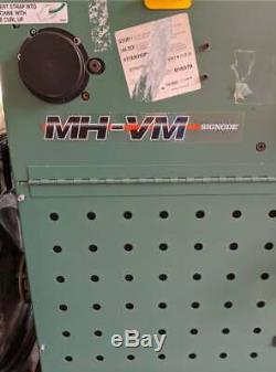 Signode MH-VM Feed Through Strapping Machine