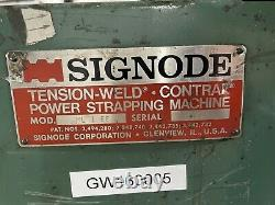 Signode ML 1 EE Strapping Machine
