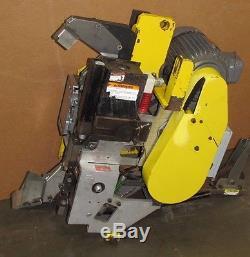 Signode M-34 M34 1hp 230/460v 3ph 1160 RPM 3/4 Poly Banding Strapping Head