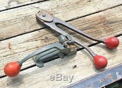 Signode Metal Banding Tensioner ST 34 & C1223 Sealer 1/2 Crimper Strapping Tool